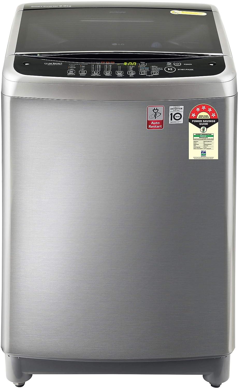 LG 9 Kg 5 Star Smart Inverter Fully-Automatic Top Loading Washing Machine