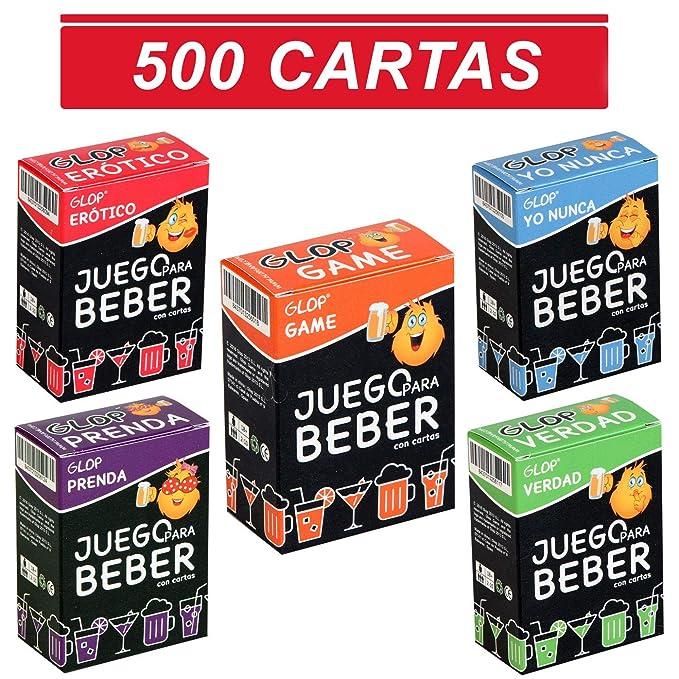 f611b26f3 Glop Game - Juegos para Beber - Juegos de Beber con cartas para Fiestas -  100 Cartas: GLOP GAME: Amazon.es: Juguetes y juegos