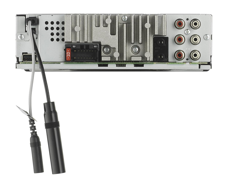Nero USB Compatibile con Smartphone RGB Pioneer DEH-X8700BT Autoradio con Bluetooth SD