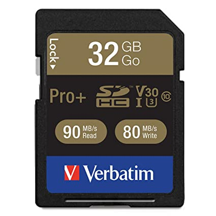 Verbatim Pro+ Memoria Flash 32 GB SDHC Clase 10 UHS - Tarjeta de ...