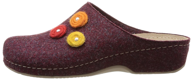 Rohde Women slippers red, (rot-kombi) 6070-42