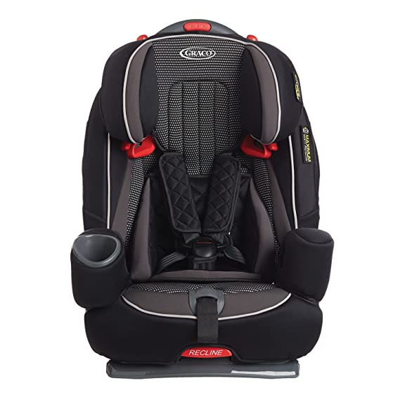 08abb21df76 Graco Nautilus Elite Harnessed Booster Car Seat, Group 1/2/3, Gravity:  Amazon.co.uk: Baby