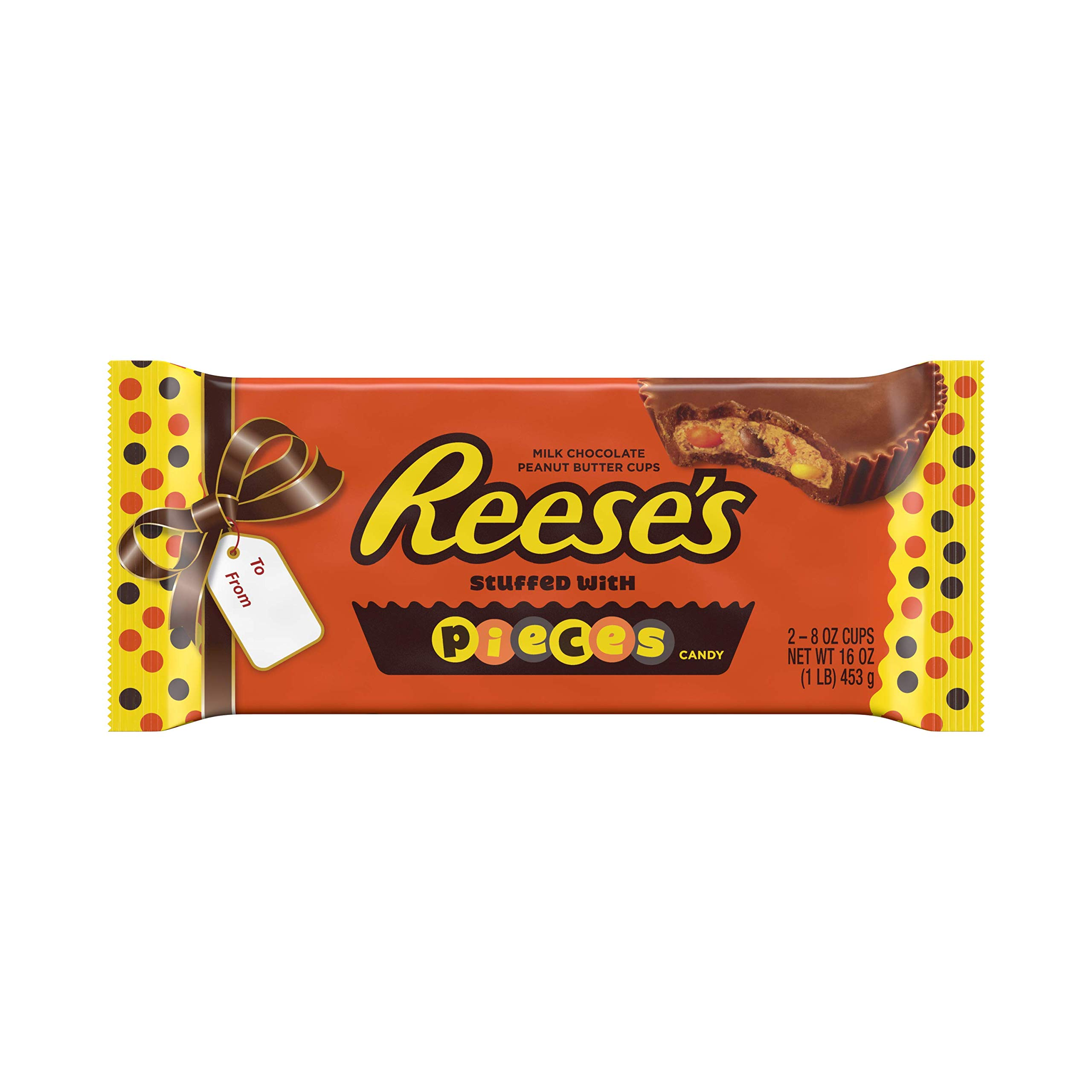 27f4f57e60 Amazon.com   REESE S Pieces 1 Pound Peanut Butter Cups
