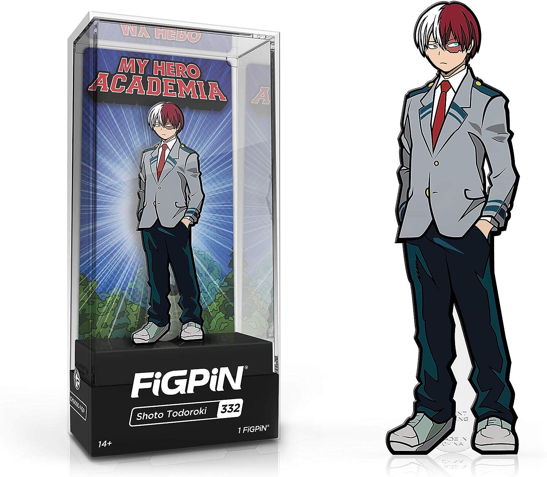 My Hero Academia Shoto Todoroki School Outfit FiGPiN Enamel Pin