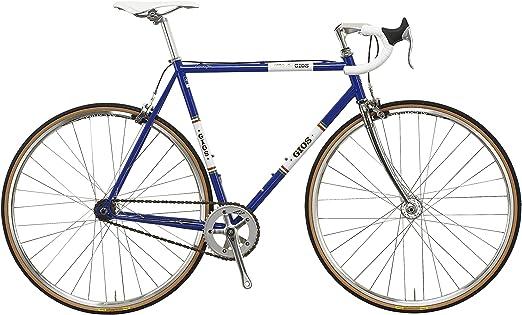 Unbekannt gios Adultos Bicicleta Vintage Pista, Color Azul - Azul, tamaño 520, tamaño de Cuadro 520 Centimeters: Amazon.es: Deportes y aire libre