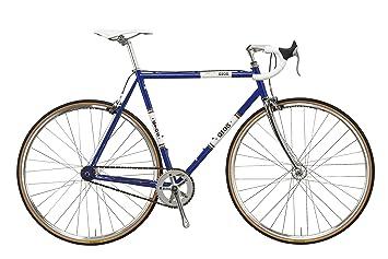 Unbekannt gios Adultos Bicicleta Vintage Pista, Color Azul - Azul ...