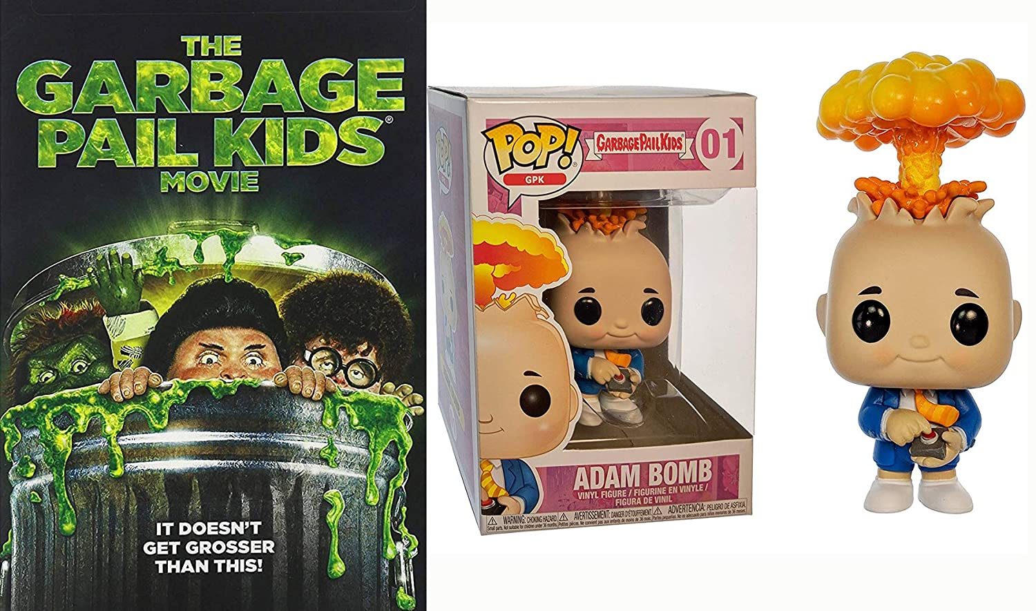 Funko POP Garbage Pail Kids vinyl figure Despatched new and boxed from UK