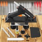 Timbertech Dellenlifter-Set Ausbeulwerkzeug aus Kunststoff für Flächen aus Metall, Glas und Holz