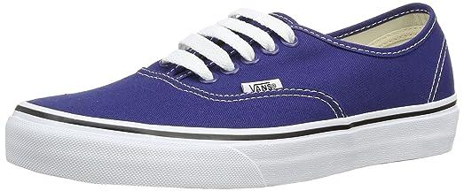 Unisex Classic Authentic Sneakers (6.5 B(M) US Women / 5 D(M) US Men Twilight Blue/True White)