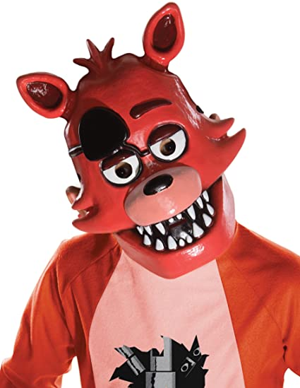 Amazon Com Five Nights At Freddy S Foxy Child S Half Mask Toys Games