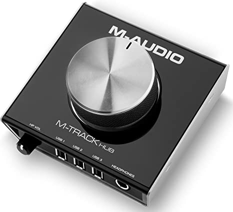 Amazon.com: M-Audio M-Track Hub | USB Interfaz de control ...