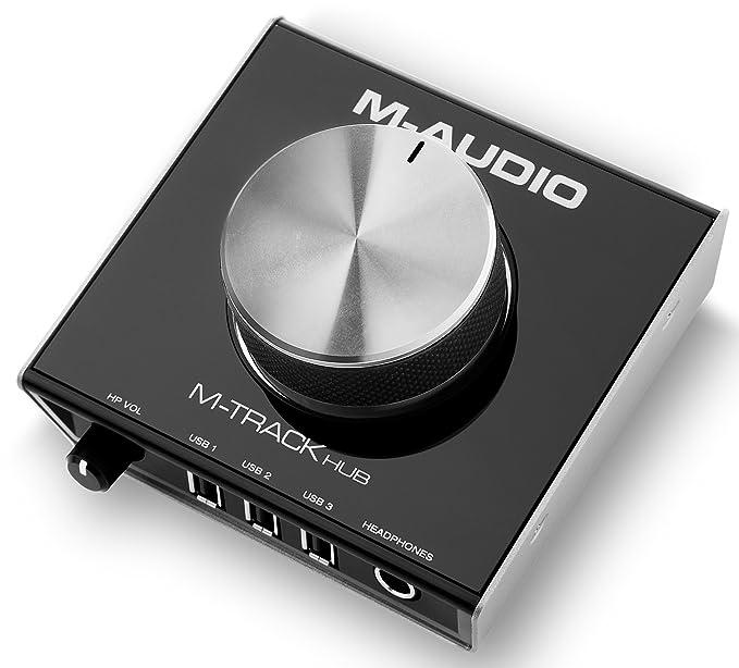 6 opinioni per M-Audio M-Track Hub Interfaccia e Hub USB Portatile con 3 Porte USB + Uscite