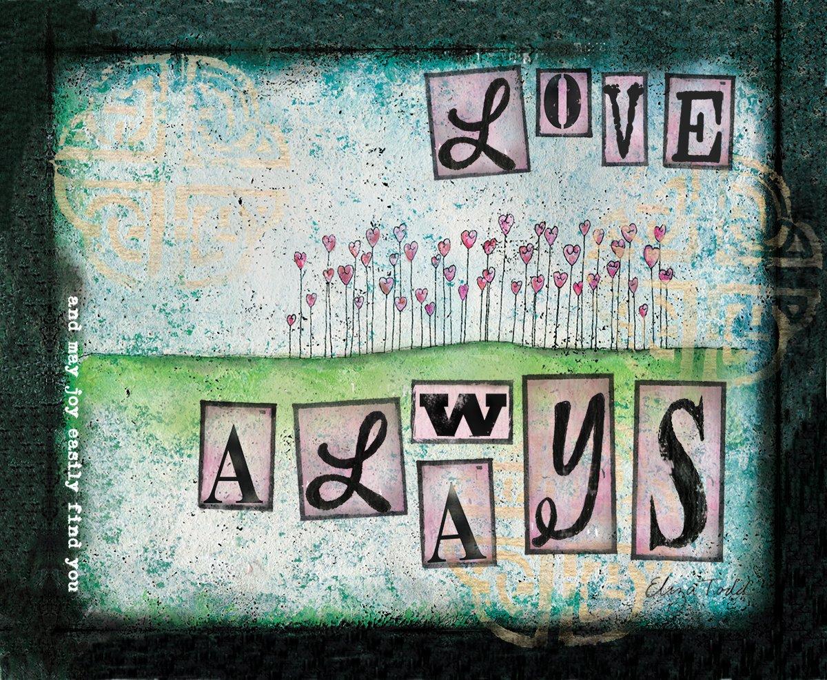 Lang Love Always Warmerアート挿入by Eliza Todd B0171C59XC