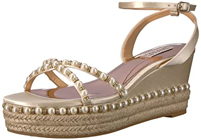 0307fb620c5 Badgley Mischka Women's Skye Espadrille Wedge Sandal