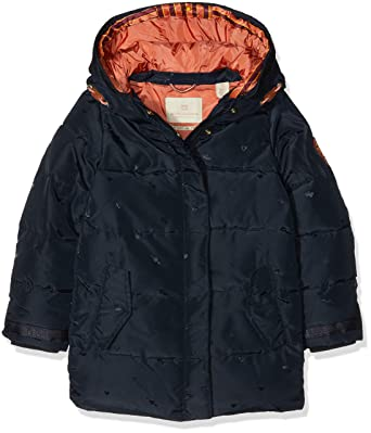 d8e60b8ad26fe Scotch   Soda R´Belle Girl s Padded Jaquard Jacket Double Hood  Construction, Blue (