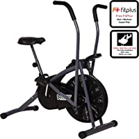 Fitkit FK600 Steel Airbike with Free Installation assistance (Black/Grey)