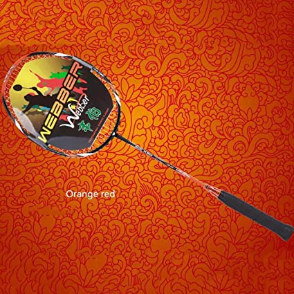 BMKY Raquetas Todo - Raqueta de Bádminton de Carbono Raqueta de Bádminton Nano de Fibra de