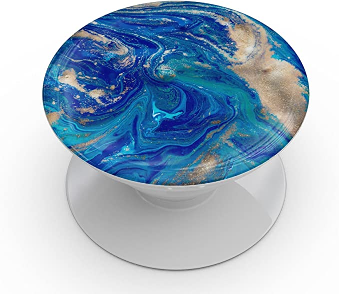 DesignSkinz Premium Decal Sticker Skin-Kit for PopSockets Smartphone Extendable Grip /& Stand Abstract Colorful Watercolor Vivid Tree
