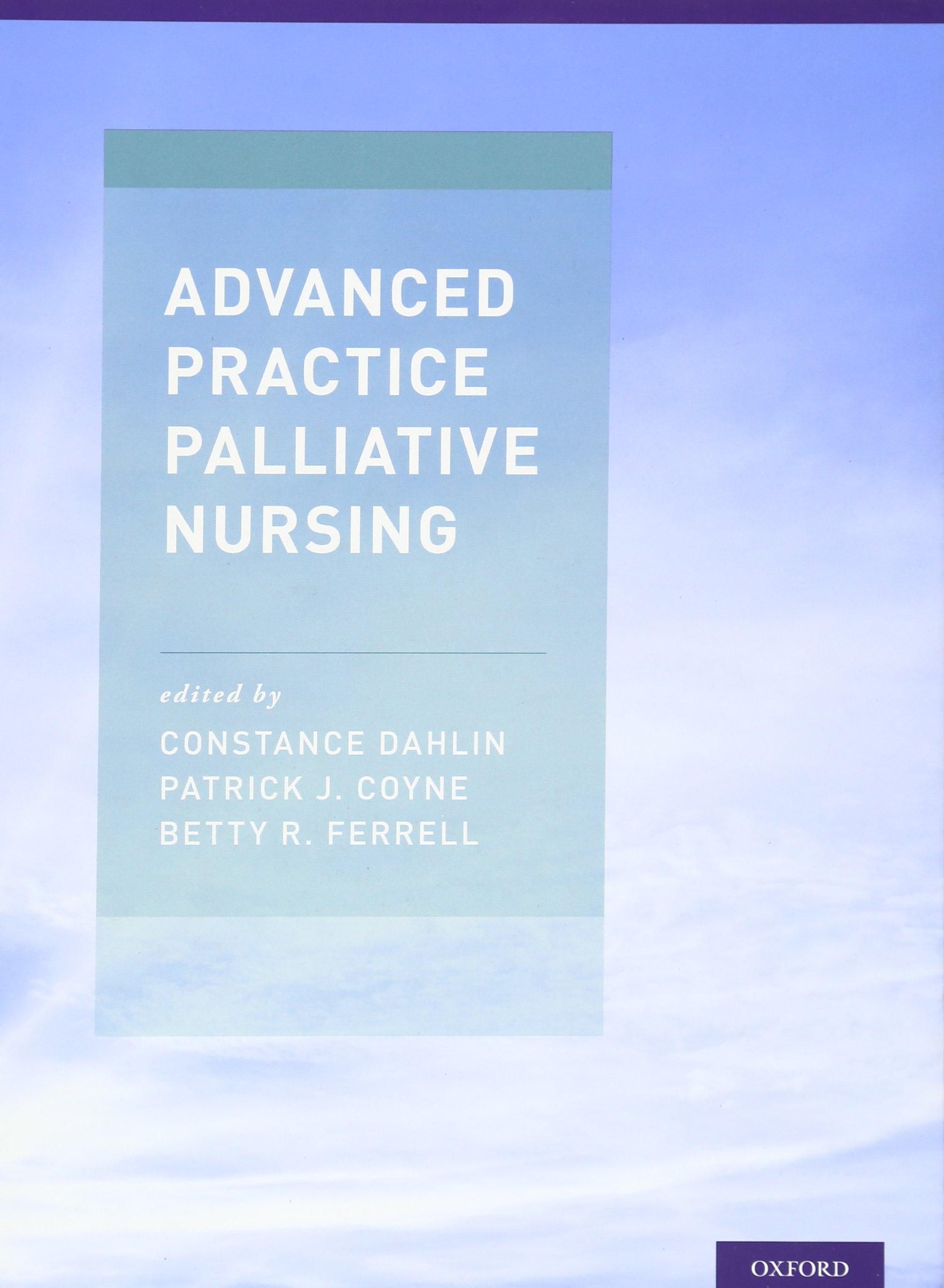 Advanced Practice Palliative Nursing by Oxford University Press