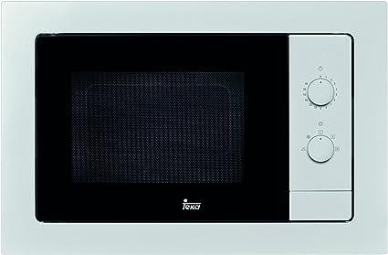 Teka MB 620 BI Microondas sin grill, 1100 W, 20 litros, Otro ...