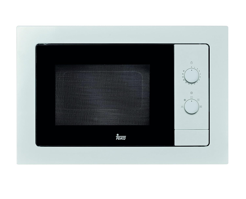 Teka MB 620 BI Microondas sin grill, 1100 W, 20 litros, Otro, Blanco