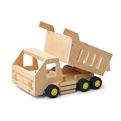 Red Tool Box Dump Truck Building Kit: Toys & Games
