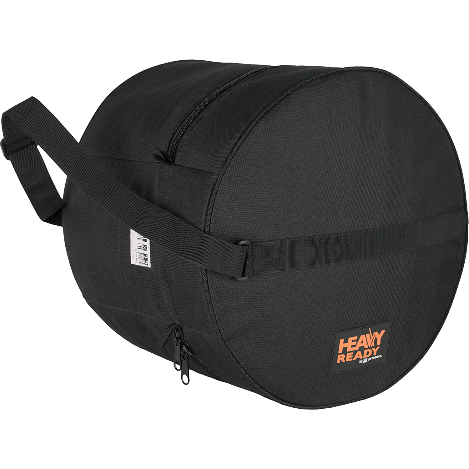 "Heavy Ready 6.5 x 14"" (Height x Diameter) Padded Snare Bag by Protec, Model HR6514 Pro Tec"
