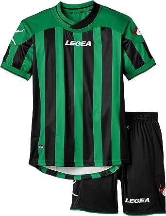 LEGEA Kit Salonicco Conjunto Camiseta + pantalón Corto de fútbol ...