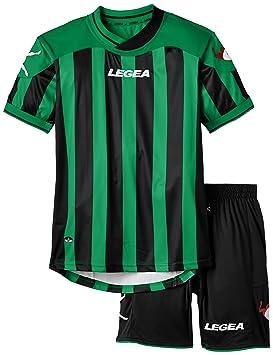Legea Kit Salonicco Conjunto Camiseta + pantalón Corto de fútbol para niños 57ca78259496d