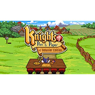 Knights of Pen & Paper +1 Deluxier Edition - Nintendo Switch [Digital Code]
