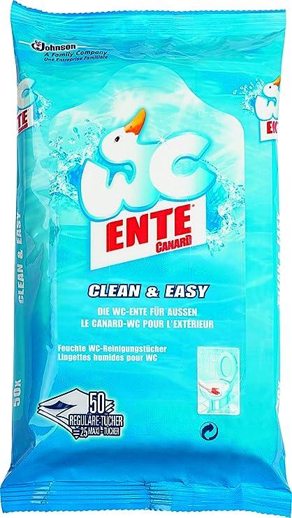 WC-Ente 672752- Toallitas de limpieza, un paquete de 50 unidades