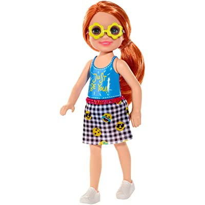 Barbie Club Chelsea Doll, 6-inch Redhead with Flower-Shaped Sunglasses, Multi: Toys & Games [5Bkhe1104556]