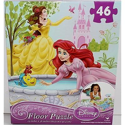 Disney Princess 46 Piece Floor Puzzle: Toys & Games