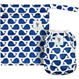 Sarah-Jane Collection Swimming Nappies - Stylish Reusable Swim Nappy & Wet Bag Set for Baby & Toddler Eco-Friendly, Washable, Grows with Your Baby - One Size Fits Most