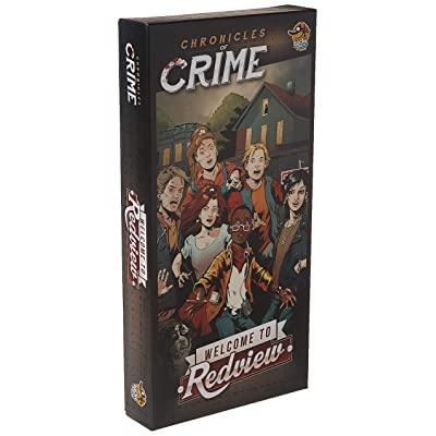 Lucky Duck Games Chronicles of Crime Welcome to Redview: Toys & Games