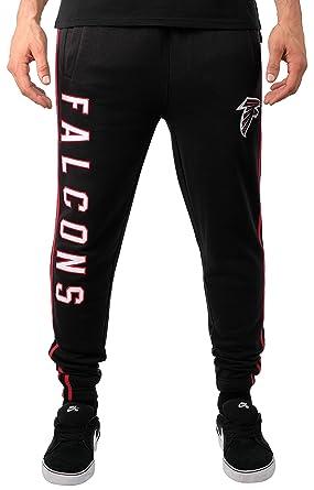 322e1a80 Ultra Game NFL Atlanta Falcons Men's Jogger Pants Varisty Stripe Fleece  Sweatpants, Team Color Stripe, Medium