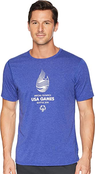 929cc8faf78 Amazon.com: Brooks Mens USA Games Event Short Sleeve: Clothing