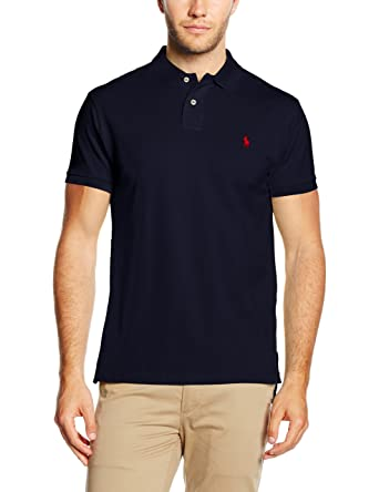 ralph lauren polo shirt herren slim fit