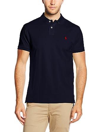 687e0eb3249aad Ralph Lauren Herren Poloshirt Ss KC Slim Fit Polo Ppc  Ralph Lauren   Amazon.de  Bekleidung