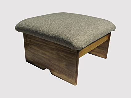 Outstanding Padded Foot Stool Doggie Step Maple Stain Desert Sand 10 Tall Made In The Usa Pdpeps Interior Chair Design Pdpepsorg