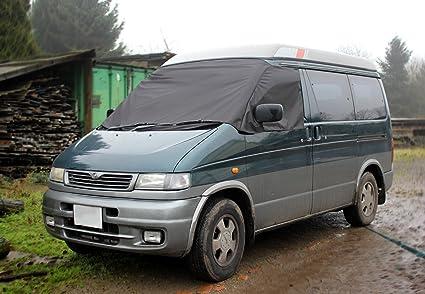 Amazon.es: Mazda Bongo Protector de ventanilla y parabrisas en negro
