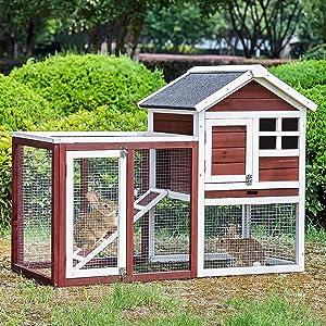 Merax Bunny Hutch House