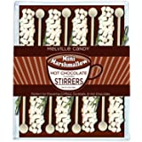 Melville Candy Mini Marshmallow Hot Chocolate Stirrers, 2.4Oz. (Pack of 8)