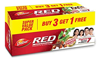 Buy Dabur Red Paste, 600g (Buy 3 Get 1 Free) Online at Low Prices