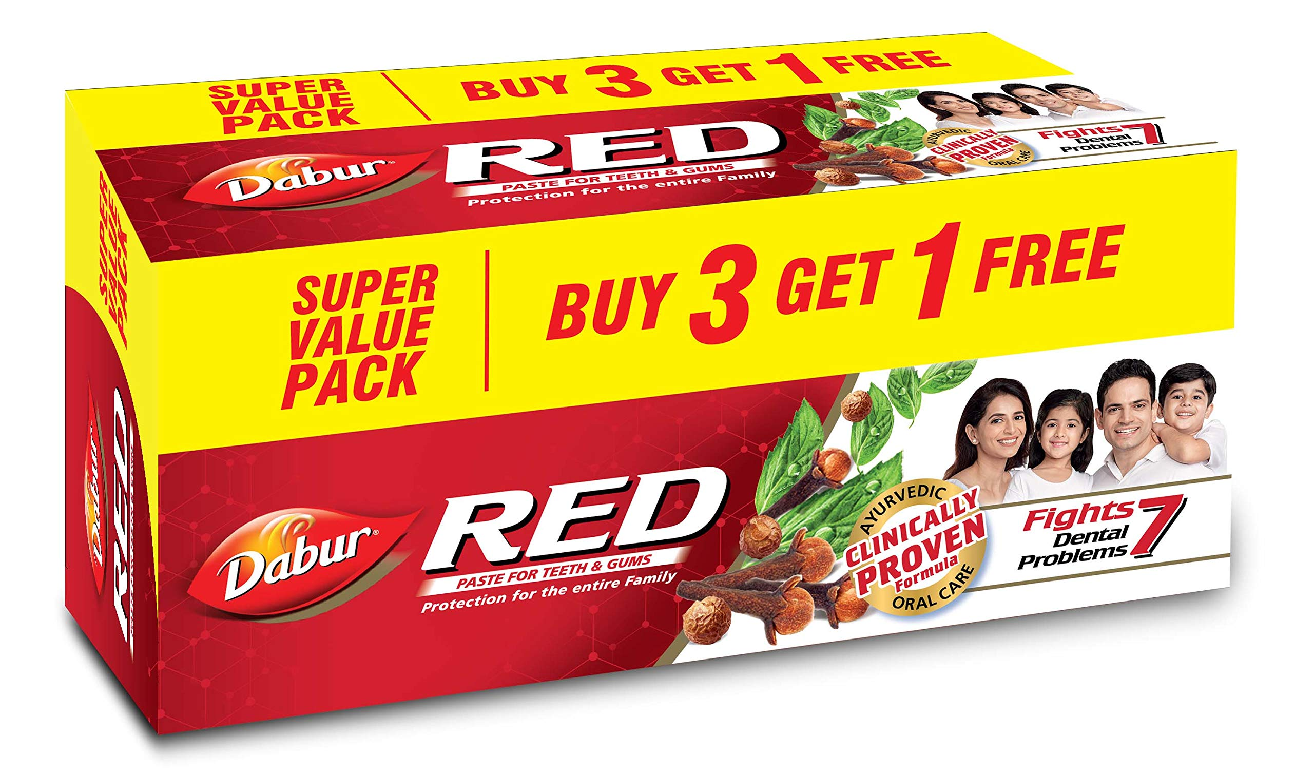 Dabur Red Paste, 800g (Buy 3 Get 1 Free)