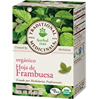Traditional Medicinals Te Orgánico de Hoja de Frambuesa, 16 Bolsitas De Té