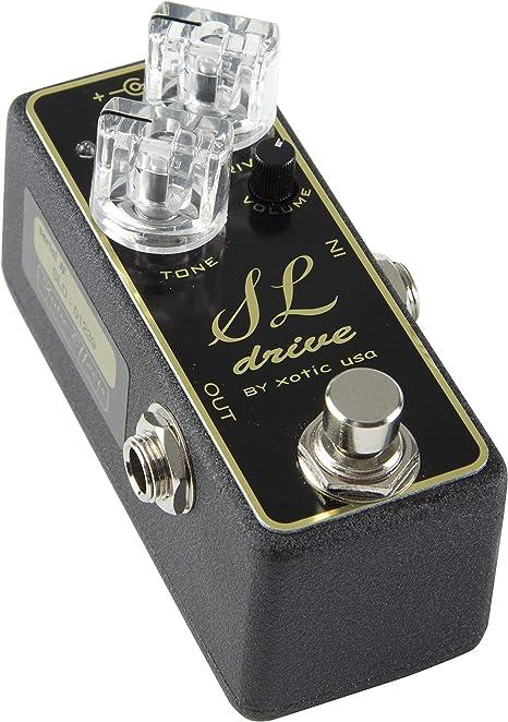 Xotic SL Drive · Pedal guitarra eléctrica: Amazon.es: Instrumentos ...