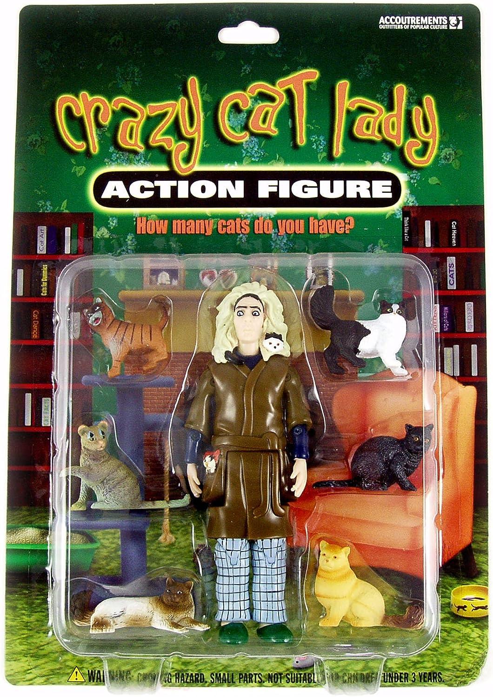 Señora loca del gato - figura de acción: Amazon.es: Juguetes y juegos