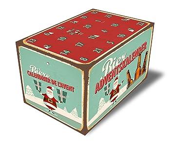 Calendario Avvento Birra.Boxclusive Gmbh Calendario Dell Avvento Da Riempire Bottiglie Di Birra 0 5 L 0 33 L Calendario Birra Alte Version