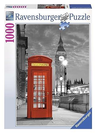 Ravensburger - Puzzles 1000 Piezas, diseño Big Ben y teléfono (19475 9): Amazon.es: Juguetes y juegos
